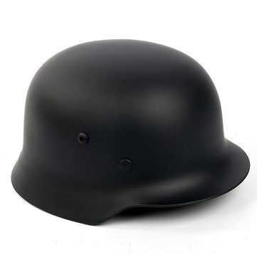 Black Army M35 M1935 Steel Helmet Video Props Cosplay Tools Collections