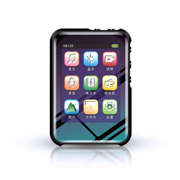 JNN M16 2.4inch 8GB 16GB 32GB bluetooth MP3 MP4 Player FM Radio Voice Recorder Ebook Music Player Built-in Speaker