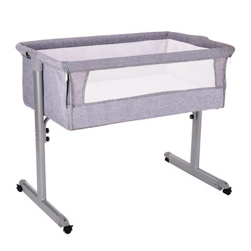 Multifunction Baby Bedside Crib Portable Folding Travel Cot Bed