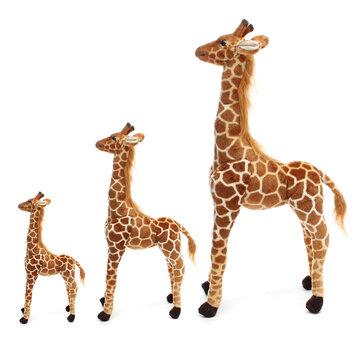 Plush Giraffe Kid Toys Giant Large Stuffed Animal Doll Xmas Gift 60/70/120CM
