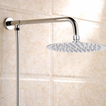 How can I buy Modern 8'' Round Chrome Stainless Steel Water Rainfall Overhead Shower Head Bath with Bitcoin
