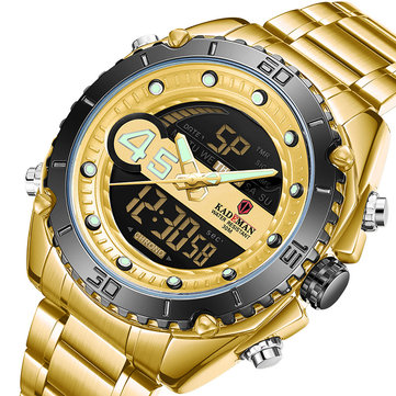 How can I buy KADEMAN K9054 Sport Men Digital Watch Luminous Date Week Display Waterproof LCD Dual Display Watch with Bitcoin