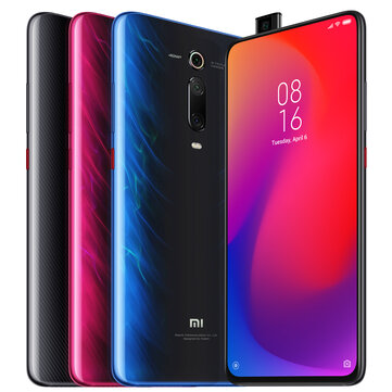 Xiaomi Mi 9T Pro Global Version 6.39 inch 48MP Triple Camera NFC 4000mAh 6GB 128GB Snapdragon 855 Octa core 4G Smartphone - Flame Red