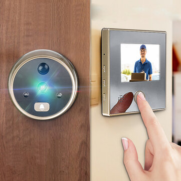 3Inch LCD Wireless Digital Peephole Viewer 120° Door Security Doorbell Video Camera