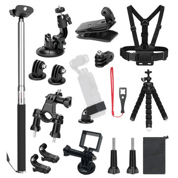 19 in 1 Expansion Frame Accessory Kit Multi-function Extended fixed Frame For DJI Osmo Pocket Handheld Action Camera Set