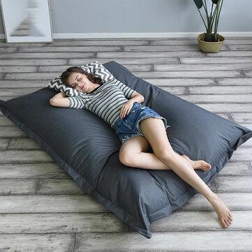140 180 cm XXXL Outdoor Foldable Bean Bag Coat Multicolor Waterproof Oxford Cloth Lazy Sofa