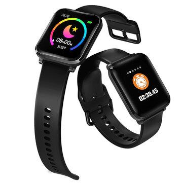 BlitzWolf BW HL1 Heart Rate Blood Pressure Oxygen Monitor 8 Sports Mode IP68 Waterproof Multi language Display Music Control Smart Watch