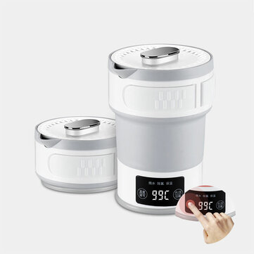 LIFE ELEMENT I4 Folding Compression Electric Mini Insulation Kettle from Xiaomi Youpin OLED Display Touch