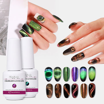 Buy Super Galaxy Cat Eye Gel 8ml 5D Chameleon Cat Eyeliner Starry Phototherapy UV Gel  Nail with Litecoins with Free Shipping on Gipsybee.com