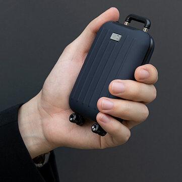 3Life 339 Bagagem Aquecedor de Mão Aquecedor de Carregamento Portátil Bateria Power Bank Duas Velocidades Temperatura Constante
