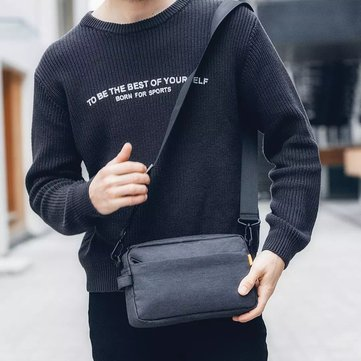 SKAH Casual Shoulder Crossbody Bag Light Weight Waterproof Men Bag from XIAOMI YOUPIN