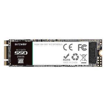BlitzWolf®BW-SA2 SSD M.2 SATA 6Gb/s Solid State Drive 256GB M.2...