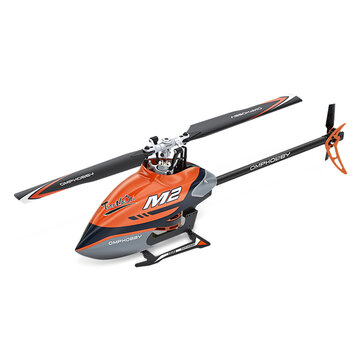 OMPHOBBY M2 6CH 3D Flybarless Dual Brushless Motor Direct-Drive RC Helicopter BNF With 4 IN 1 Flight Controller