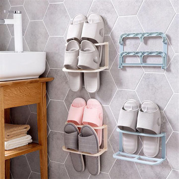 How can I buy Wall-mounted Folding Shoe Rack Saves Space Slipper Shelf House Decorations with Bitcoin