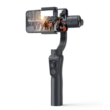 Знижка 40 на BlitzWolf  BW-BS14 bluetooth 3-Axis Gimbal Stabilizer