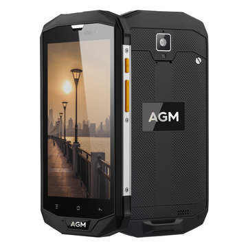 AGM A8 5.0 Inch 4050mAh NFC IP68 Waterproof Dustproof Shockproof 4GB 64GB Snapdragon 410 Quad Core 4G Smartphone for sale in cryptocurrencies for the best price on Gipsybee.com.
