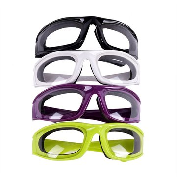 Women Mens Onion Goggles Barbecue Safety Glasses Eyes Protector Face Shields Cooking Glasses