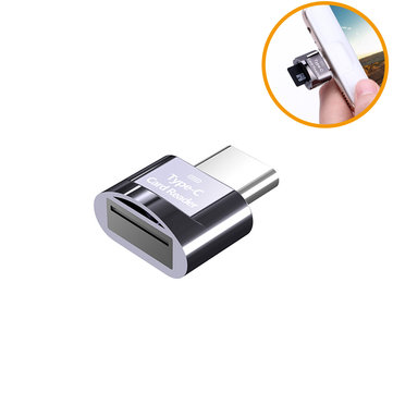 Biaze Type-C Card Reader TF Card OTG Memory Card Adapter Memory Card Reader for Laptop Phones Type-C Port
