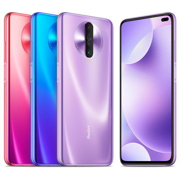 Xiaomi Redmi K30 CN 4G Version 6.67 inch 120Hz Fluid Display 6GB 128GB 64MP Quad Rear Cameras 4500mAh 27W Fast Charge NFC Snapdragon 730G Octa core 4G Smartphone