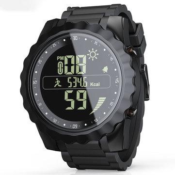 LOKMAT MK08 1.26'' Luminous Display IP67 Waterproof Smart Watch Calender Date Stopwatch Sport Pedometer Fitness Bracelet
