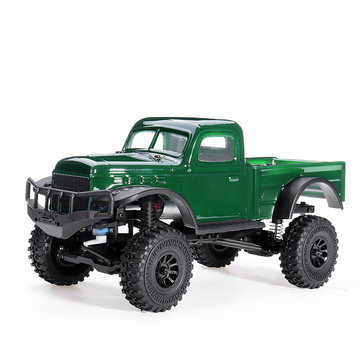 $156.05 for K1 1/18 2.4G 4WD RC Car Electric Off-Road Full Proportional Crawler with LED Light RTR Model