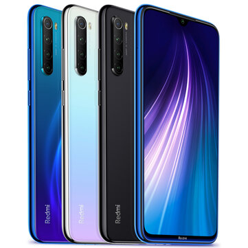 Xiaomi Redmi Note 8 Global Version 6.3 inch 48MP Quad Rear Camera 4GB 128GB 4000mAh Snapdragon 665 Octa core 4G Smartphone
