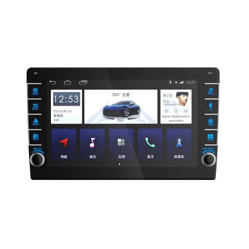 YUEHOO 10.1 Pollici 2Din per Android 8.0 Car Stereo Radio Quad core 1 + 16G IPS Touch Screen MP5 Player GPS WIFI FM