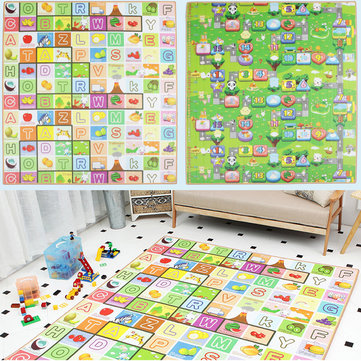 How can I buy 200x180cm Kids Crawling Educational Game Baby Floor Mat Soft Foam Carpet with Bitcoin