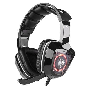 SOMiC G910i Gaming Headset Virtual 7.1 Surround Sound Headphone with...