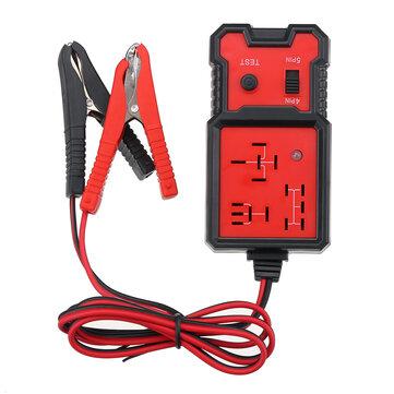 Universal 12 V Relay Tester Ferramenta de Teste Eletrônico Para Carro Auto Bateria Checker 4 PIN 5 PIN Ferramenta de Diagnóstico
