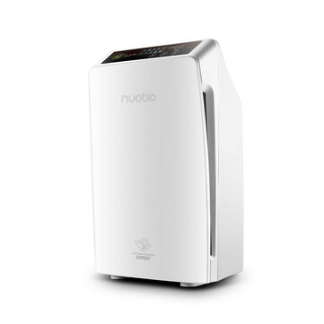 Nobico J001 Remote Control HEPA Fliter Air Purifier Remove Formaldehyde Anion Indoor Air Purifier- White