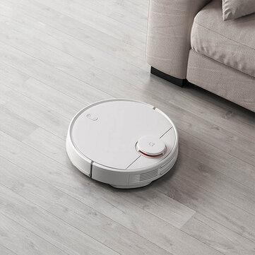 Xiaomi Mijia 2 in 1 Robot Vacuum Mop Vacuum Cleaner 2100pa Wifi Cerdas Direncanakan Bersih Mi Rumah APP