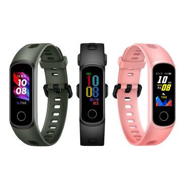 Original Huawei Honor Band 5i Full Touch Wristband SpO2 Blood Oxygen Sleep Monitor USB Charging Smart Watch International Version
