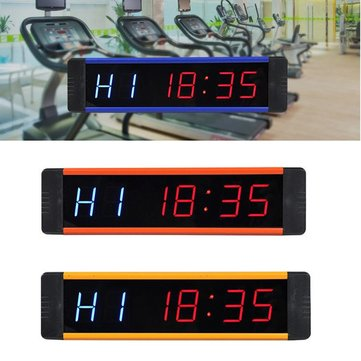 How can I buy LED Interval Wall Clock Gym Fitness Training Timer Tabata IR Remote  with Bitcoin