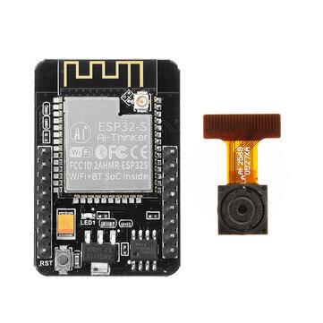 Geekcreit® ESP32-CAM WiFi + moduł kamery Bluetooth Płytka rozwojowa ESP32 z modułem kamery OV2640