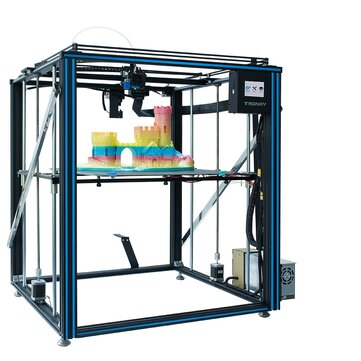 TRONXY X5SA 500PRO Upgraded Aluminum 3D Printer 500+500+600mm Large Printing Size With Titan Extruder Ultra Quiet Mode OSG Dual Axis Guide