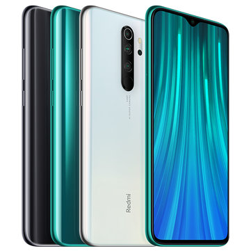 Xiaomi Redmi Note 8 Pro 6.53 inch 64MP Quad Rear Camera 6GB 64GB NFC 4500mAh Helio G90T Octa core 4G Smartphone