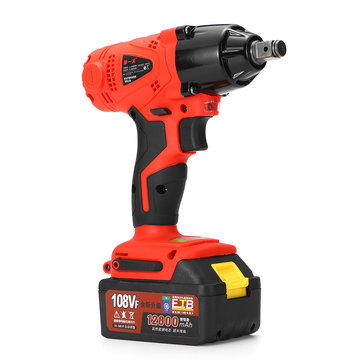 108VF 12800mA Cordless Impact Drill Kit Powerful Kits  Electric Screwdriver Cordless Drill Mini Wireless Power Driver DC Lithium-Ion Battery