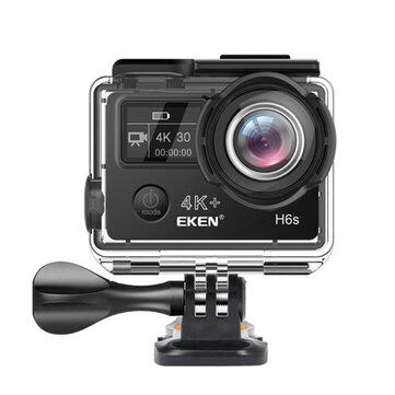 EKEN H6s EIS 4K Wifi Sport Action Camera 170 Degree Wide Angle Fisheye Lens HD OLED Dual Screen Car DVRsfromAutomobiles & Motorcycleson banggood.com