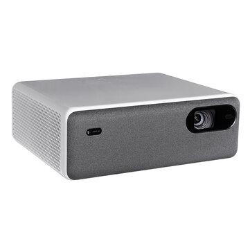 [नया संस्करण] XIAOMI Mijia ALPD3.0 लेजर प्रोजेक्टर 2400 ANSI Lumens 4k रिज़ॉल्यूशन समर्थित 250 Inch स्क्रीन वाईफ़ाई ब्लूटूथ डुअल 10W स्पीकर होम थिएटर प्रोजेक्टर प्रोजेक्टर और सहायक उपकरण