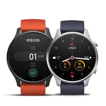 [bluetooth 5.0]Original Xiaomi Watch Color 1.39 Inch AMOLED GPS+GLONASS NFC 14 Days Battery Smart Watch