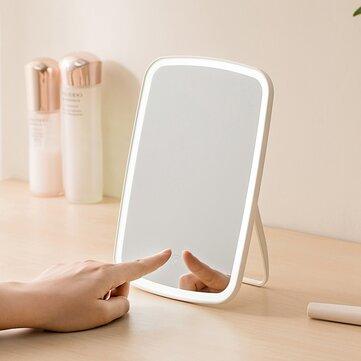 Tragbare Kosmetikspiegel Desktop LED-Licht USB wiederaufladbare Folding Touch dimmbare Lampe für Schlafsaal nach Hause von Xiaomi Youpin