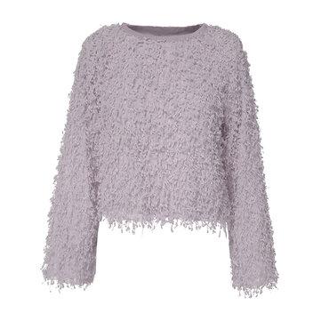Women Autumn Winter Fleece Jumpers Teddy Bear Pullover Sweaters