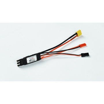 ZOHD Dart250G 30A Brushless ESC with 5V 2A BEC XT-60 JST TJC8 for 570mm Wingspan Sub-250 grams Sweep Forward Wing AIO EPP FPV RC Airplane Spare Part