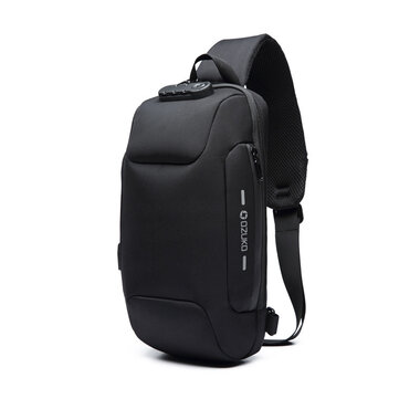 $13.99 for OZUKO Chest Bag Anti-theft Crossbody Bag