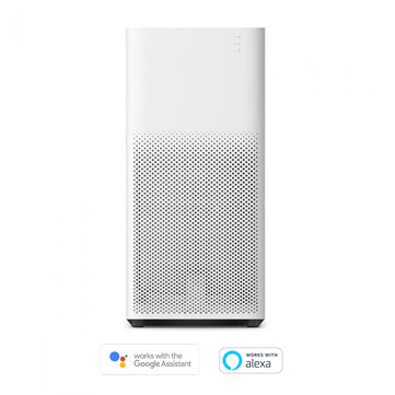 [International Version]Xiaomi Mi Mijia Air Purifier 2H Google Assistant  Amazon Alexa Mi Home APP Control 260 m3/h Particles CADR