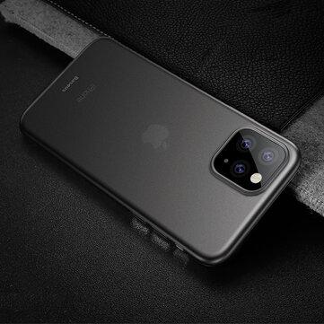 Baseus Ultra Thin Anti-scratch Mat gjennomsiktig PP beskyttelsesetui til iPhone 11 Pro Max 6,5 tommer