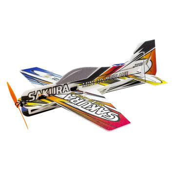 15% OFF for SAKURA E211 MINI 3D Airplane Kit 420mm Wingspan Trainer for Beginner 3D Aerobatic RC Aircraft Stunt Plane