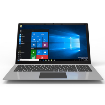 YEPO 15.6 inch Intel Celeron N3350 Intel HD Graphics 500 6GB DDR3 500G Win 10 Laptop- Silver
