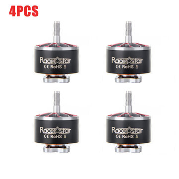 4PCS Racerstar AirB 2514 1498KV 4-8S Brushless Motor For Long Range FPV Drone Match With 3-8